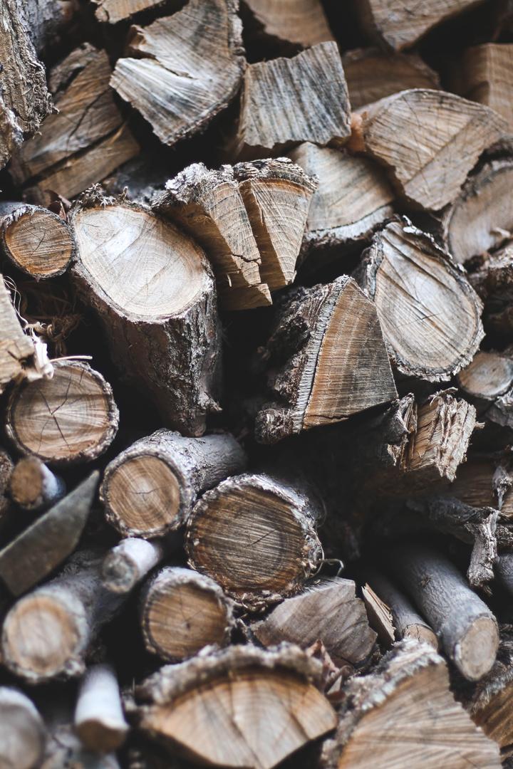 Holz Stapel